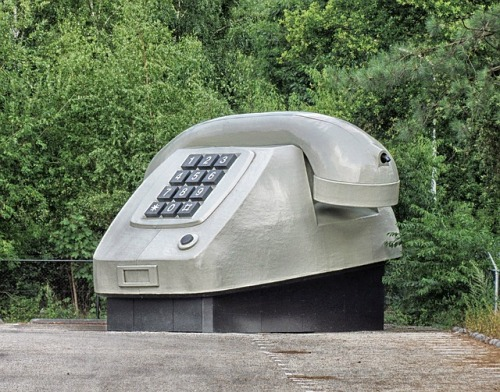 Apeldoorn The Netherlands Large Phone Sculpture